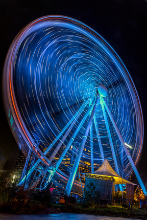 Liseberg Ferris wheel at night