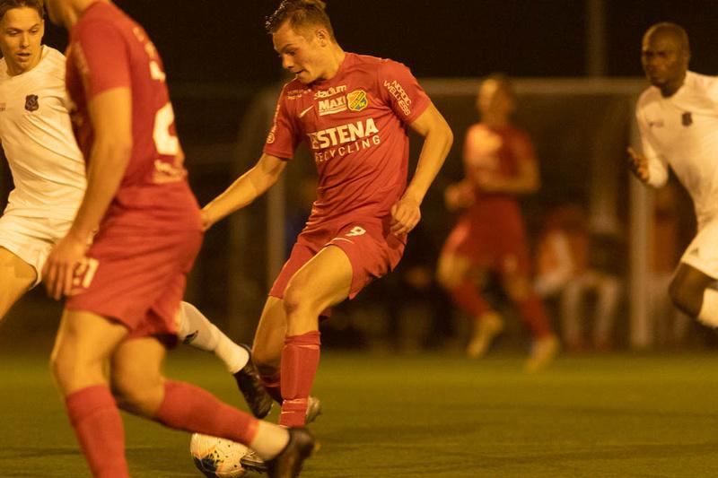 Match i Div 2 Västra Götaland Mellan Torslanda IK och Sävedalens IF
