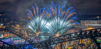 Liseberg Fireworks and Helix