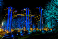 Hotel Gothia Towers night shoot from Liseberg