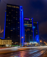 Hotel Gothia Towers at night